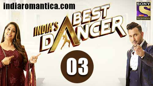India's Best Dancer: 1×3