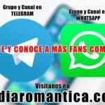 ¡Lanzamos nuestros Canales y Grupos en Telegram y WhatsApp! 😍